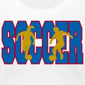 Girl's Soccer - Women's Premium T-Shirt