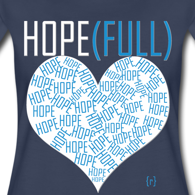 Hope(full) Tee - Blue