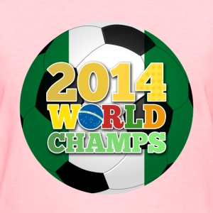 2014 World Champs Ball - Nigeria - Women's T-Shirt