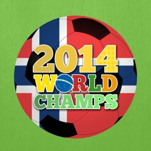 2014 World Champs Ball - Norway - Tote Bag