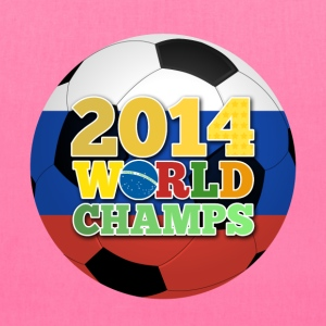 2014 World Champs Ball - Russia - Tote Bag
