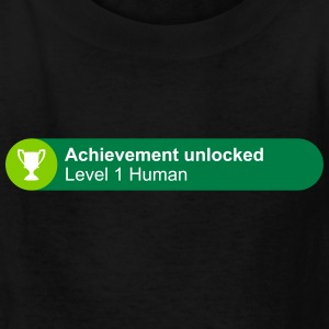 Achievement Level 1 Human - Kids' T-Shirt
