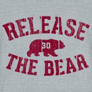 Design ~ Release the Bear - UNISEX Grey Tri-Blend
