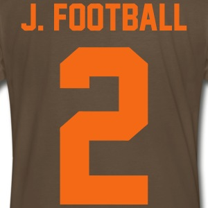 J Football T-Shirts - Men's Premium T-Shirt