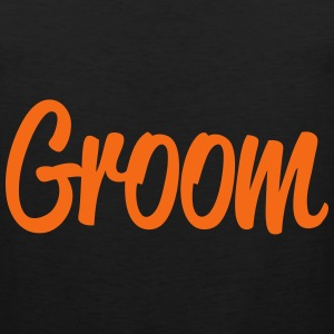 Groom Men - Men's Premium Tank