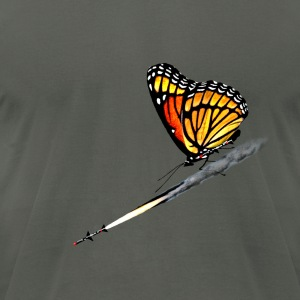 Monarch Butterfly - Men's T-Shirt by American Apparel