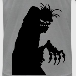 Black Zombie T-Shirts - Men's T-Shirt by American Apparel