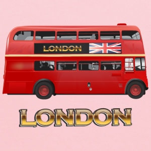 London Red Bus - Kids' Hoodie