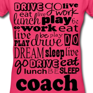 Coach Sports Gift Women's T-Shirts - Women's V-Neck T-Shirt