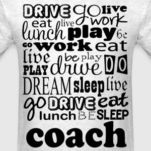 Coach Sports Gift T-Shirts - Men's T-Shirt