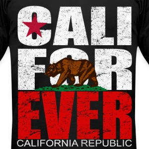 CALI FOR EVER Tee - Men's T-Shirt by American Apparel