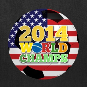 2014 World Champs Ball - Usa Bags & backpacks - Tote Bag