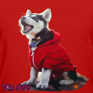 Husky Puppy - Women's T-Shirt