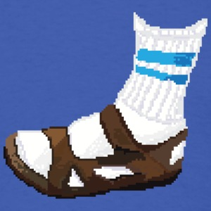 Sandals and Socks - Men's T-Shirt