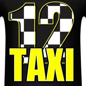Taxi 12 number - Men's T-Shirt