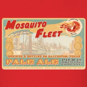 Mosquito Fleet Pale Ale - Men's T-Shirt