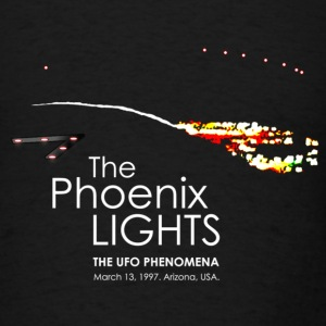 UFO Phoenix Lights Incident - Men's T-Shirt