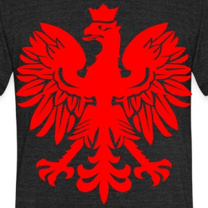 Polish Red Eagle T-Shirts - Unisex Tri-Blend T-Shirt by American Apparel