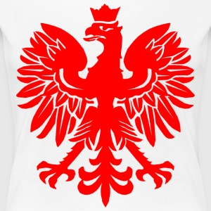 Polish Red Eagle Women's T-Shirts - Women's Premium T-Shirt