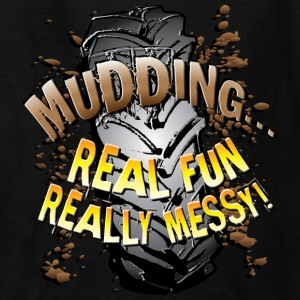 Mud Trucks Messy Fun Kids' Shirts - Kids' T-Shirt