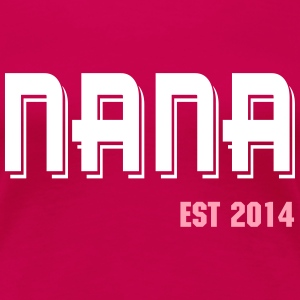 nana established  Women's T-Shirts - Women's Premium T-Shirt