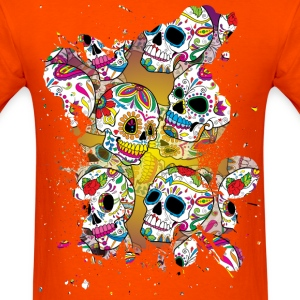 Sugar Skulls T-Shirts - Men's T-Shirt