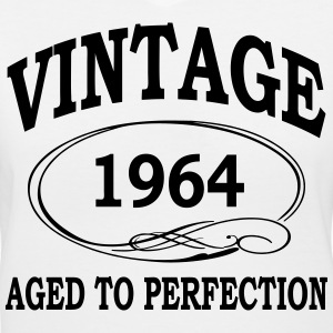 vintage 1964 aged to perfection Women's T-Shirts - Women's V-Neck T-Shirt