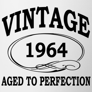 vintage 1964 aged to perfection Bottles & Mugs - Contrast Coffee Mug
