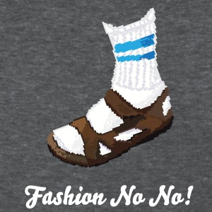 Sandals and Socks - Women's T-Shirt