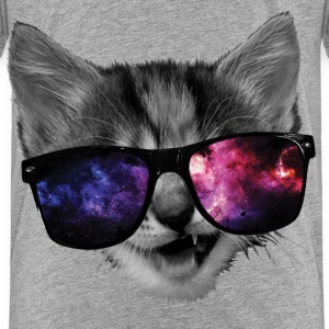 Kitten with swag - Toddler Premium T-Shirt