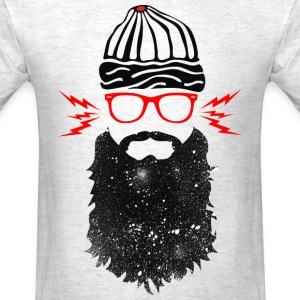 Nerd Beard Glasses - Men's T-Shirt
