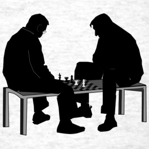 chess match - Men's T-Shirt