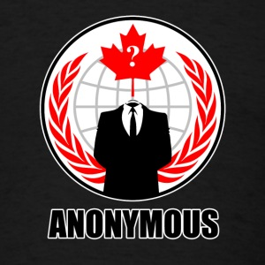 Anonymous Canada - Men's T-Shirt
