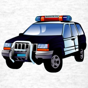 Police Car - Men's T-Shirt