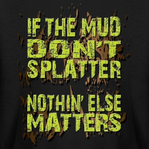 Mud Bogging Splatters Kids' Shirts - Kids' Long Sleeve T-Shirt
