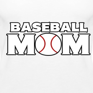Baseball Mom - Women's Premium Tank Top