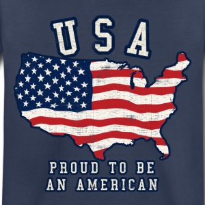 Proud to be an american - Toddler Premium T-Shirt