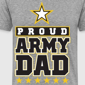 Proud Army Dad - Men's Premium T-Shirt