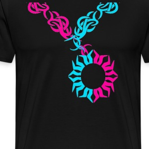 Tribal Necklace - Men's Premium T-Shirt