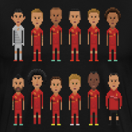 Design ~ Men T-Shirt - 8bit-Football.com.BE