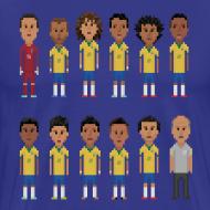Design ~ Men T-Shirt - 8bit-Football.com.BR