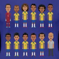 Design ~ Women T-Shirt - 8bit-Football.com.BR