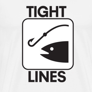 Tight Lines - Men's Premium T-Shirt