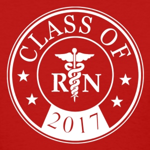 class_of_2017_registered_nurse Women's T-Shirts - Women's T-Shirt