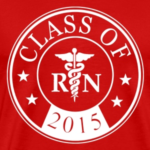 class_of_2015_registered_nurse T-Shirts - Men's Premium T-Shirt