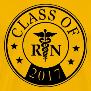class_of_2017_registered_nurse T-Shirts - Men's Premium T-Shirt