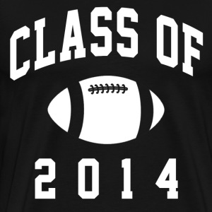 class_of_2014_football T-Shirts - Men's Premium T-Shirt