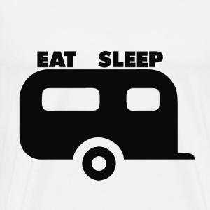 Eat Sleep Camp - Men's Premium T-Shirt