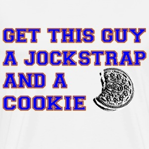 Get this Guy a Jockstrap and a Cookie T-Shirts - Men's Premium T-Shirt