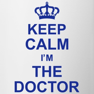 keep_calm_im_the_doctor_g1 Bottles & Mugs - Contrast Coffee Mug